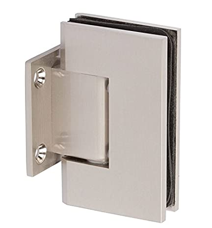 Rockwell Wall To Glass Square Corner Shower Hinge With Short Back