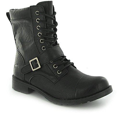 Rocket Dog Birmingham Denver Damen Stiefel Schwarz Black