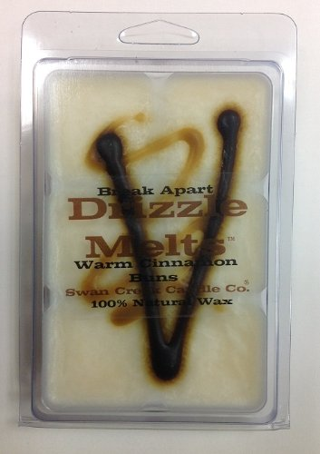 Swan Creek Drizzle Melts- Warm Cinnamon Buns (Better Homes And Gardens Wax Cubes Vs Scentsy)