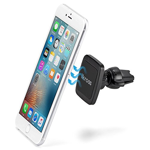 iKross Magnetic Air Vent Clip on Car Mount Smartphone Stand