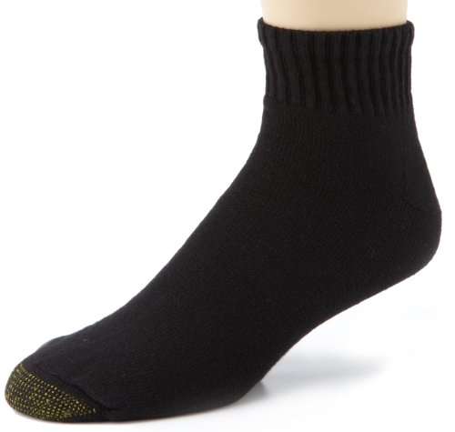 Gold Toe Men's Cotton Quarter Athletic Sock Six-Pack