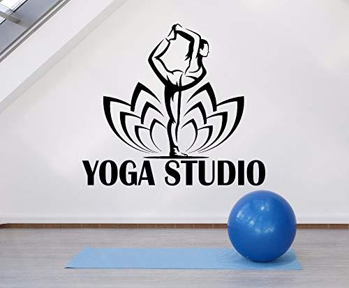 GUUTOP Logotipo de Estudio de Yoga calcomanías de Vinilo ...
