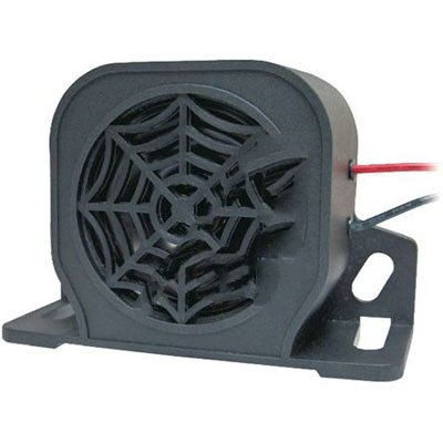 RS Pro 235360 Black Single Tone Electronic Sounder 12- 80 Vdc 107dB at 1 Metre