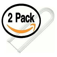 (2 Pack) Philips FB40T12/CW/SUPREME/6 40 Watt T12 U Bend U Shaped Fluorescent Tube Light Bulb - 6 Inch Leg Spacing