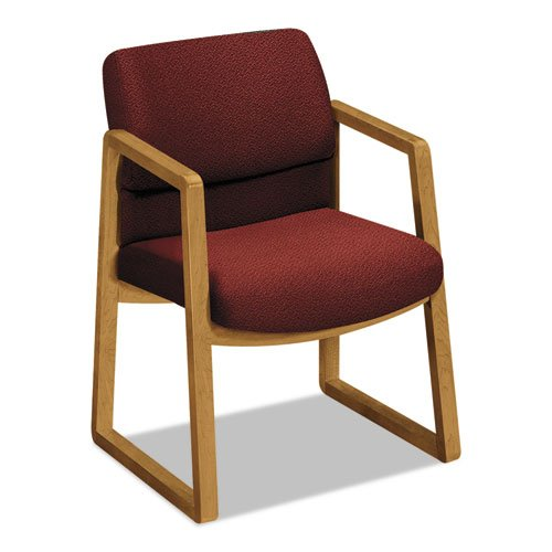 HON HON2403CAB62 2400 Series Guest Chair, Burgundy AB62 by HON