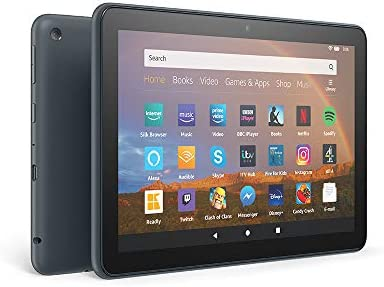 "All-New Fire HD 8 Plus tablet, 8"" HD display, 64 GB, Slate with Special  Offers, Our best 8"" tablet for portable entertainment: Amazon.co.uk: Amazon  Devices"
