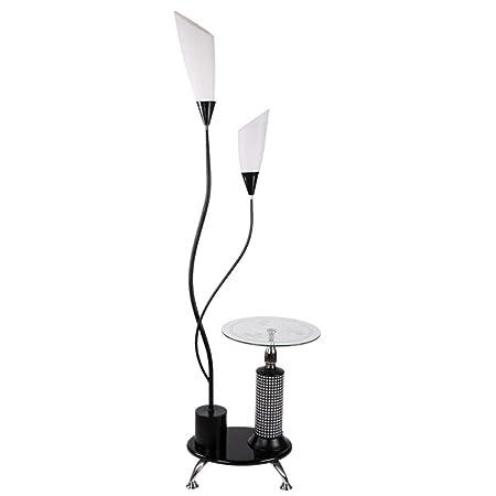 Lámparas de pie LED Lámpara de pie Moderna Minimalista Lily Mesa ...