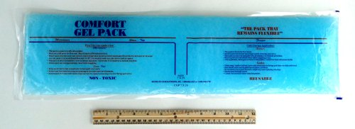 7x25 Comfort Gel Pack with Fitted Sleeve by Accurate Manufacturing (Image #2)