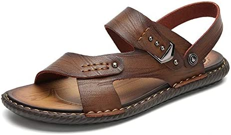 Jingkeji Men's Antislip Beach Sandals
