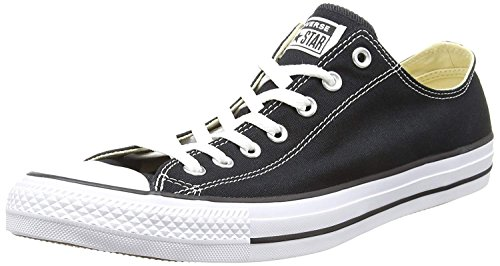Converse Women's All Star Ox Trainers US4.5 Black