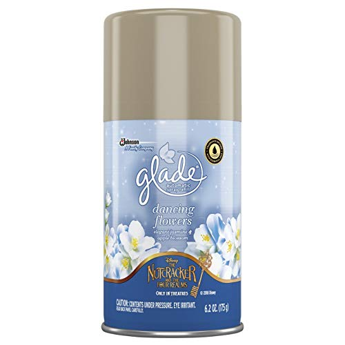 (Glade Air Freshener Spray - Holiday Collection 2018 - Dancing Flowers - Net Wt. 6.2 Oz (175 g) Per Can - Pack of 3 cans)