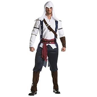 Amazon.com: Assassin s Creed – disfraz de Connor Classic ...