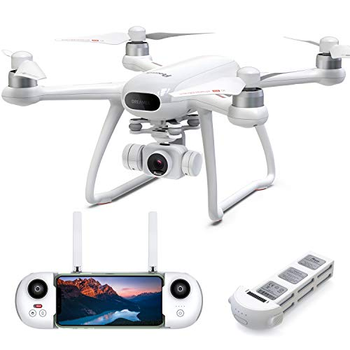 Potensic Dreamer Drone with Camera for Adults 4K 31Mins Flight, GPS Quadcopter with Brushless Motors, Auto Return, 5.8G…