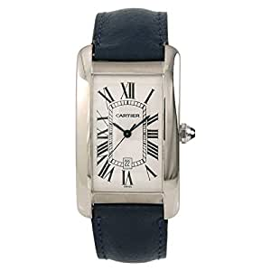 Cartier Tank Americaine Automatic-self-Wind Male Watch 1741 (Certified Pre-Owned)