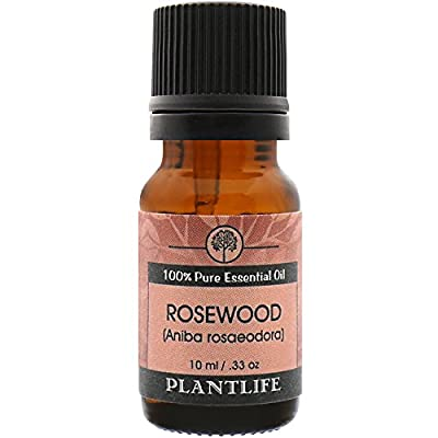 Rosewood Essential Oil (100% Pure and Natural, Therapeutic Grade) 10 ml from Plantlife