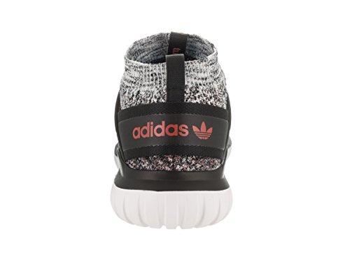 Adidas Heren Tubular Nova Pk Originelen Sportschoen Bruin / Zwart-rood