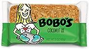 Bobo's Oat Bars (Coconut, 12 Pack of 3 oz Bars) Gluten Free Whole Grain Rolled Oat Bars - Great Tasting Ve