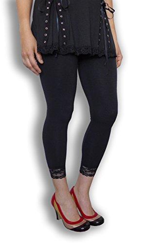 Dare To Wear Victorian Gothic Boho Women's Plus Size Harmony Leggings Black 5x