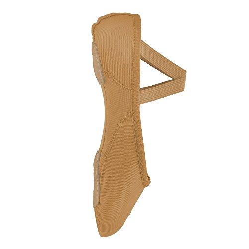 ballet 210 de Flesh de Bloch lona Proflex zapatos zq6dYx