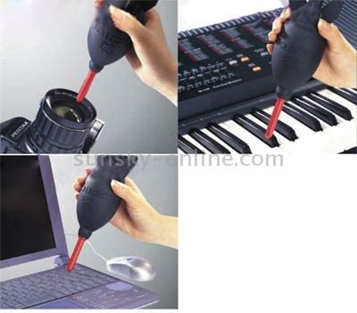 Glasses and LCD Durable Computers PDAs Audio-Visual Equipment CD Rocket Rubber Dust Blower Cleaner Ball for Lens Filter Camera