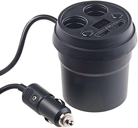 Revolt Car Socket 4 Way Car Splitter With 2 X 12 Elektronik