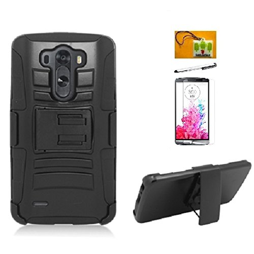 LF 4 in 1 Bundle - Black Hybrid Dual Layer Case with for sale  Delivered anywhere in USA