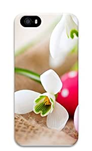 iPhone 5 5S Case Easter Eggs And Snowdrop230 3D Custom iPhone 5 5S Case Cover