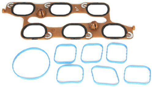 (ACDelco 12646459 GM Original Equipment Intake Manifold Gasket Kit with Throttle Body Gasket and Upper and Lower Gaskets)