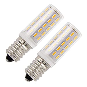 E14 LED Bulb Led Bulb 5w, Equivalent 45W Warm White 3000K Small Edison Screw, 400Lumens Ac220-230V Non Dimmable (Pack of…