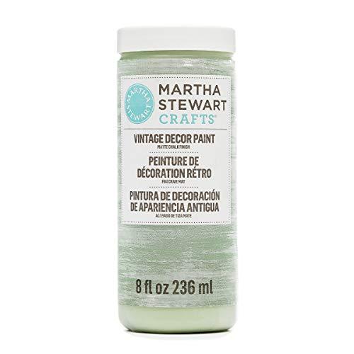 Martha Stewart Crafts 33521 Martha Stewart Vintage Decor Matte Chalk Antique Sky, 8 oz Paint,