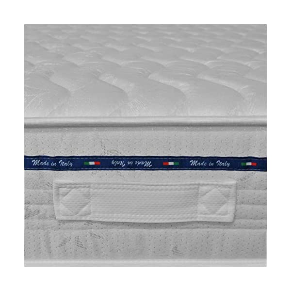Baldiflex Materasso Matrimoniale Amazonia Top in Memory Foam 160x190 cm 5 spesavip