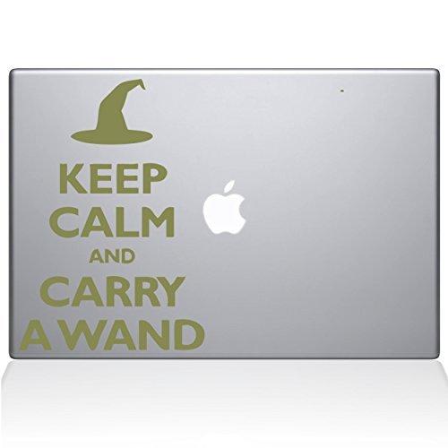 2019年春の The Decal Guru B0788G57CW Keep Calm and Decal Carry a Wand Guru MacBook Decal Vinyl Sticker - 15 Macbook Pro (2016 & newer) - Gold (1109-MAC-15X-G) [並行輸入品] B0788G57CW, マキノ町:25d4401d --- a0267596.xsph.ru