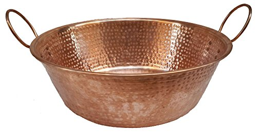Egypt gift shops Polished Copper Basin Foot Massage Relaxing Soothing Therapy Pedicure Spa Bride Beauty Salon by Egypt Gift Shops