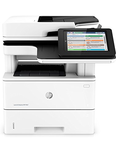 HP LaserJet Enterprise M527dn Multifunction Laser Printer with Built-in Ethernet & Duplex Printing (F2A76A) by HP