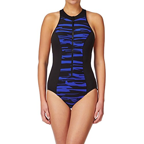 Seafolly Fastlane Scuba Swimsuit - Blue Ray