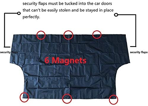Universal Protective Snow Covers - Windshield Cover Car Snow Shade