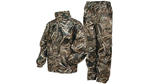 Frogg Toggs All Sports Camo Suit, Max 5 Camo, X-Large