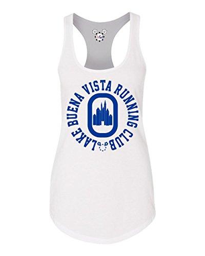DisGear Lake Buena Vista Running Club Ladies Racerback Running Tank - Vista Shops Buena Lake