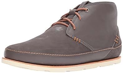 Chaco Men's Thompson Chukka Hiking Shoe, Dark Gull Gray, 7 Medium US