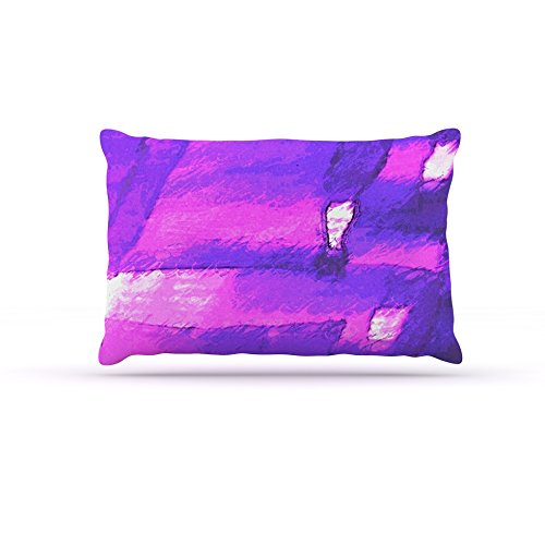 Kess InHouse Oriana Cordero Suenos en Purpura  Fleece Dog Bed, 50 by 60 , Purple Lavender