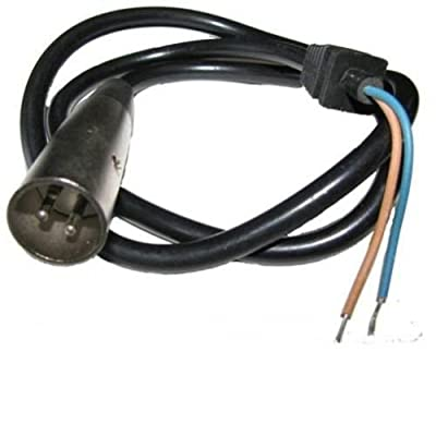 WhatApart XLR Plug (3-pin) for Currie Schwinn IZIP EZIP Scooter Battery Charger : Sports & Outdoors