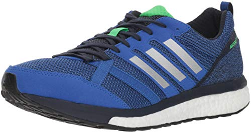 adidas Men's Adizero Tempo 9 Running Shoe, hi-res Blue/Silver Metallic/Legend Ink, 9 M US