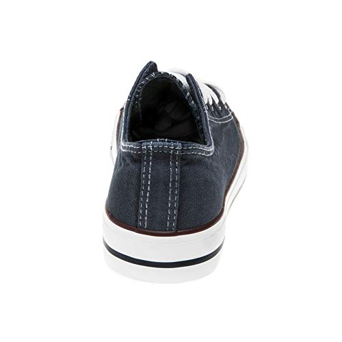 New Womens XTI Grey 33825 Canvas Trainers Lace Up