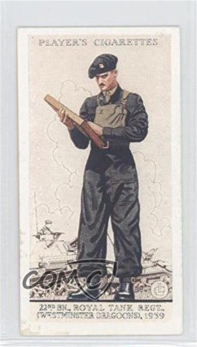 (22nd Bn., Royal Tank Regiment (Westminster Dragoons), 1939 COMC REVIEWED Good to VG-EX (Trading Card) 1939 Player's Uniforms of the Territorial Army - Tobacco [Base] #48 )