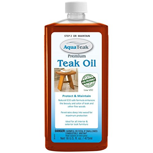The Original Kai Corner Teak Bath Shelf & AquaTeak Two-Step Care Kit by AquaTeak (Image #3)