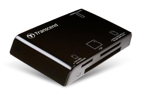 Transcend P8 15-in-1 USB 2.0 Flash Memory Card Reader TS-RDP