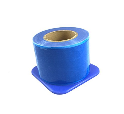 Quality Blue Barrier Film with Dispenser (1200 Sheets) by House Brand