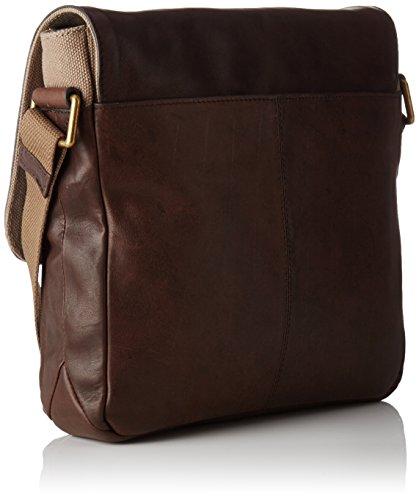 LE TANNEUR - Gary, La bolsa y cartera Hombre, Marron, 5x26x24 cm (W x H L)