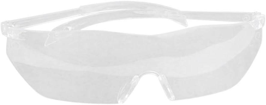 Exceart Anteojos de Seguridad Anteojos Médicos Anteojos Protectores Anteojos de Protección Médica Anteojos Transparentes contra Salpicaduras Químicas Antipolvo para Protección Total de Los Ojos