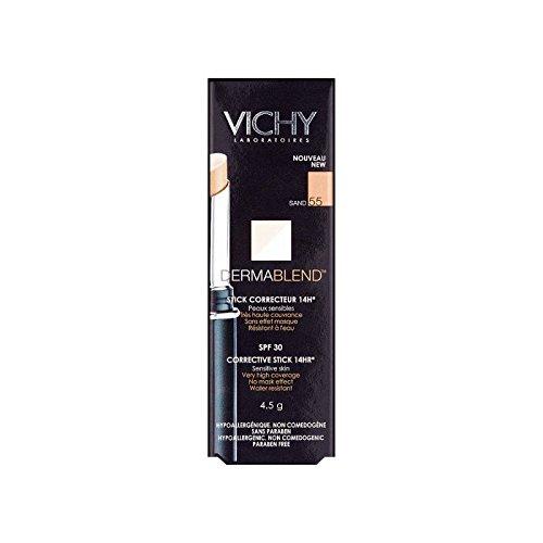 ヴィシー是正スティック4.5グラム青銅55 x4 - Vichy Dermablend Corrective Stick 4.5g Bronze 55 (Pack of 4) [並行輸入品] B072DXLWF7